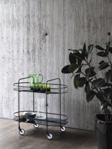 Chic Food Trolley by Bontempi