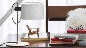 Coupe Table Lamp Lighting by Oluce