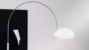 Coupe Floor Lamp Lighting by Oluce