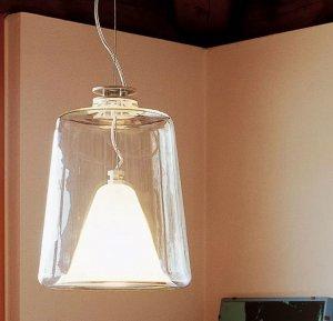 Lanterna and Laternina Suspension Lamp Lighting by Oluce