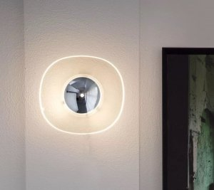 Yolk Wall Lamp Lighting by Oluce