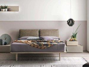 Piuma Bed by Tomasella