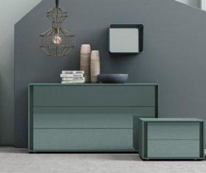 Vip Glass Storage Unit Dresser by Tomasella
