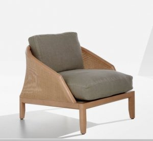 Grace Lounge Armchair by Potocco