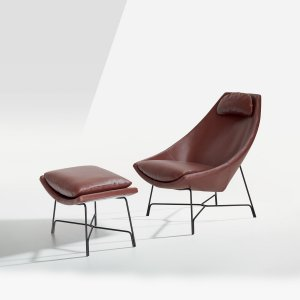 Cut Lounge Chair Lounger by Potocco