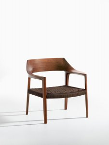 Scheggia Lounge Armchair by Potocco