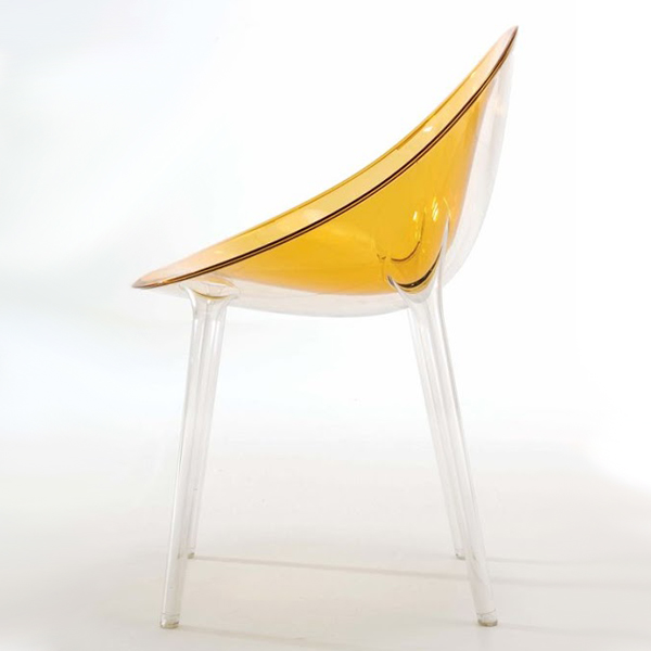 Mr Impossible chair from Kartell, designed by Philippe Starck