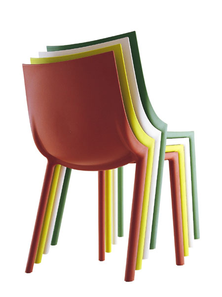 Bo chair from Driade, designed by Philippe Starck