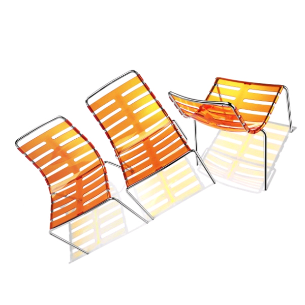 Body to Body Transparent chair from Parri