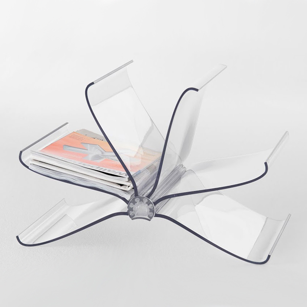 Front Page bookcase from Kartell, designed by FRONT