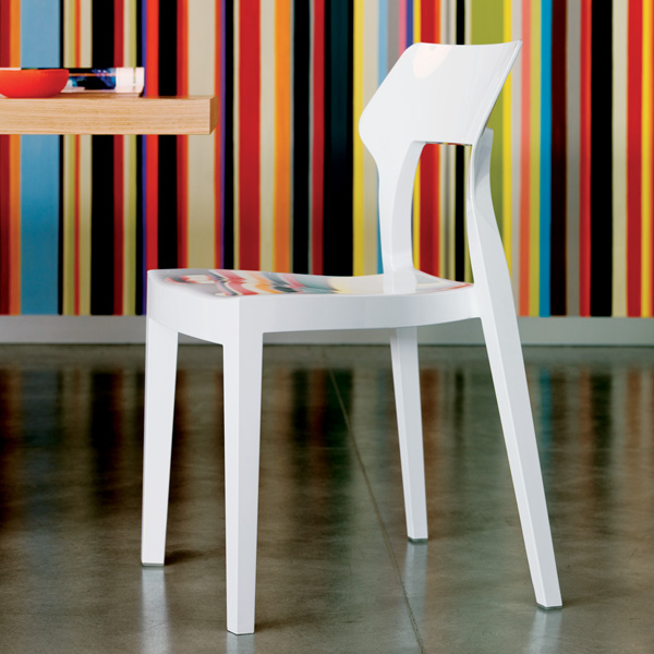 Aria chair from Bontempi