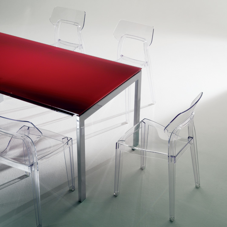 Aria chair from Bontempi, designed by Dondoli and Pocci