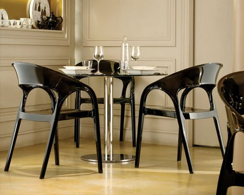 Pedrali Gossip Plastic Chair Contemporary Dining Room