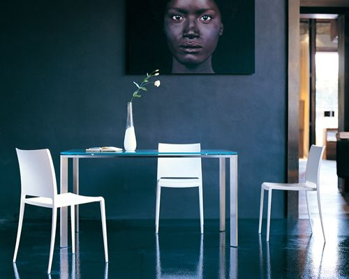 Logico dining table from Pedrali, designed by Pedrali R&D