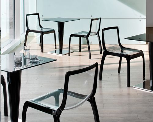 Miss You chair from Pedrali, designed by Marco Piva
