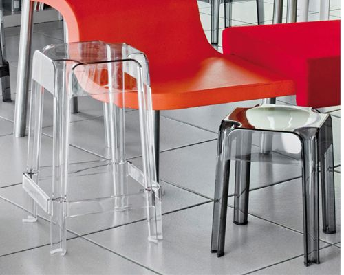 Rubik stool from Pedrali, designed by Dondoli and Pocci