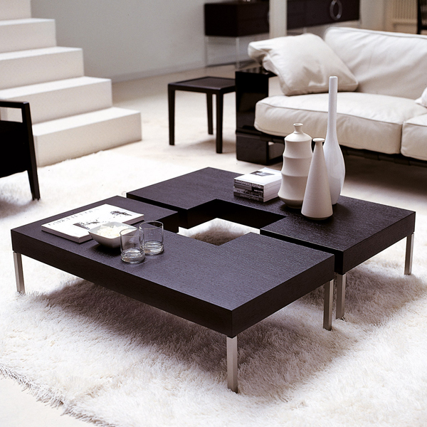 Porada Puzzle Wooden Coffee Table Contemporary Living