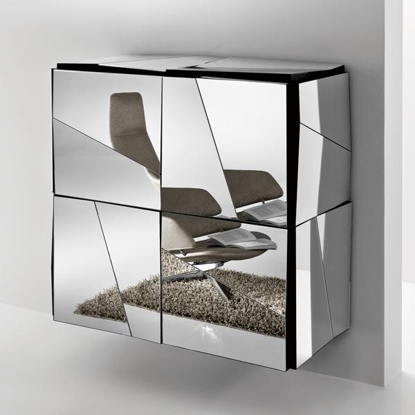 Psiche C cabinet from Tonelli, designed by Giovanni Tommaso Garattoni