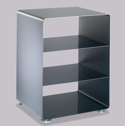 Mobile Line Stereo Cabinet storage from Muller