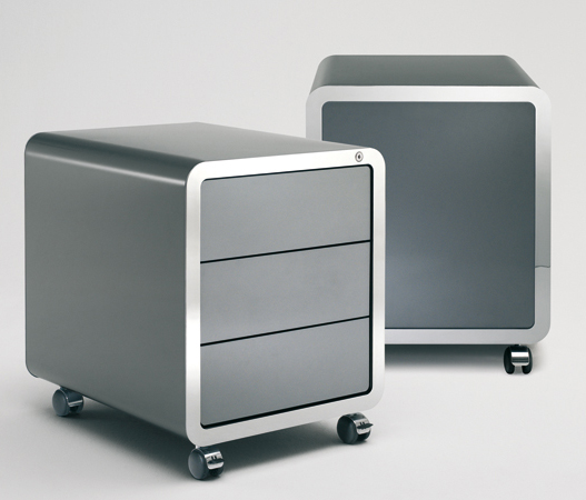 Highline Roll Container cabinet from Muller