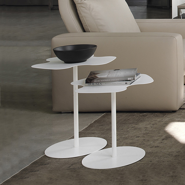 Flower end table from Bontempi, designed by Studio 28