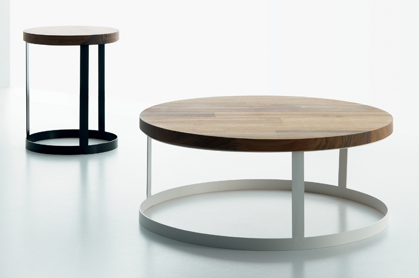 Zero Wood coffee table from Miniforms, designed by Giopato and Coombes