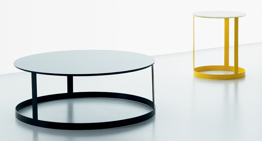 Zero Glass end table from Miniforms