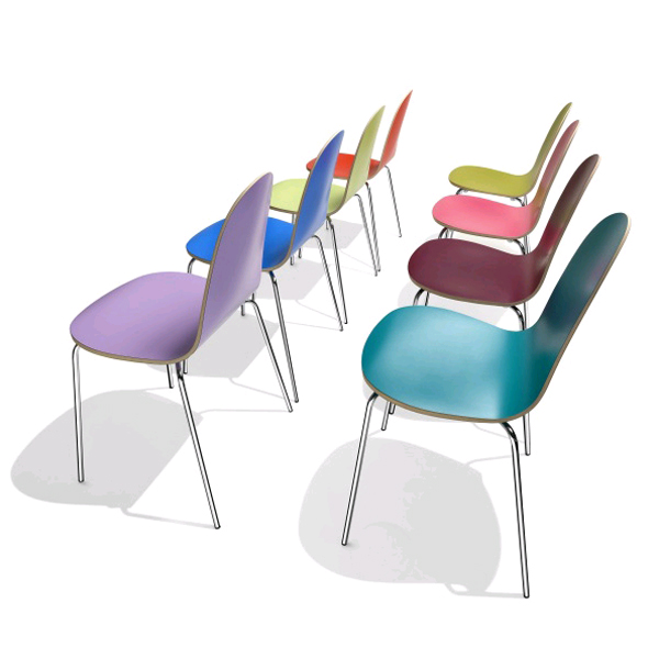 Caramella Laminate chair from Parri