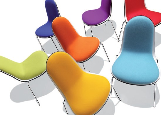 Caramella Fabric chair from Parri