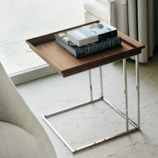 Cucu end table from Porada, designed by T. Colzani