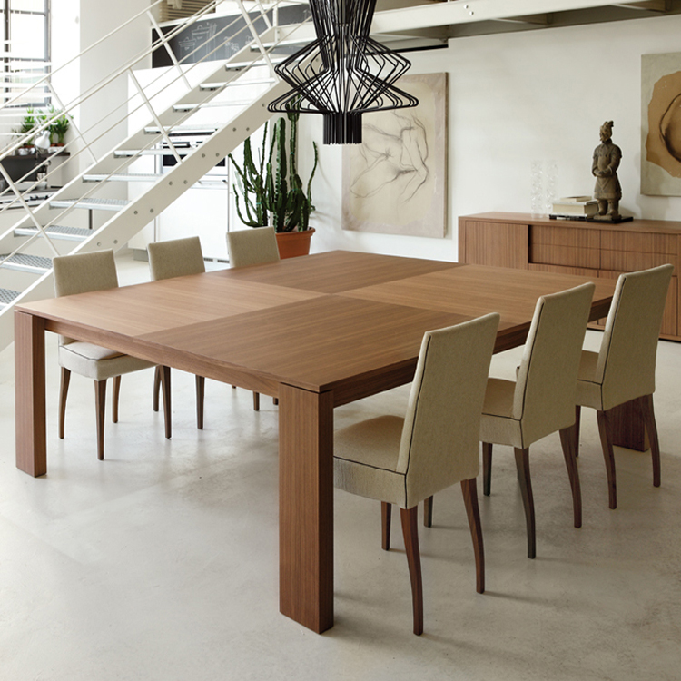 Kevin Quadrato dining table from Porada, designed by Otto Moon