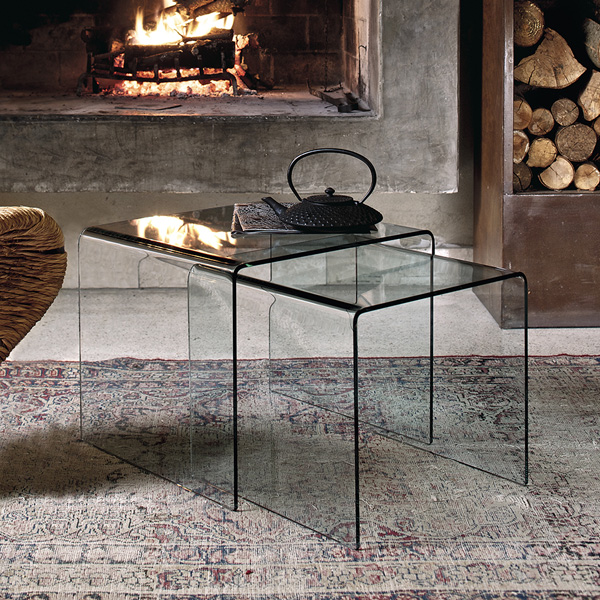 Igloo end table from Bontempi