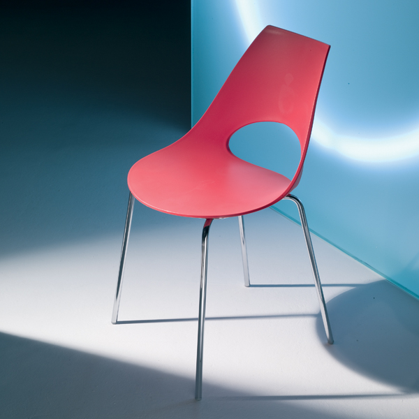 Shark Poly chair from Bontempi