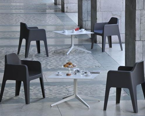 Plus chair from Pedrali, designed by Alessandro Busana