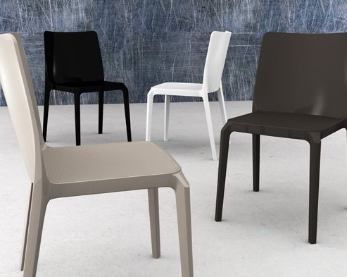 Blitz chair from Pedrali, designed by Dondoli and Pocci