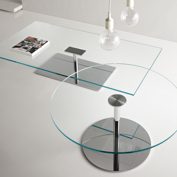 Farniente coffee table from Tonelli, designed by Giovanni Tommaso Garattoni