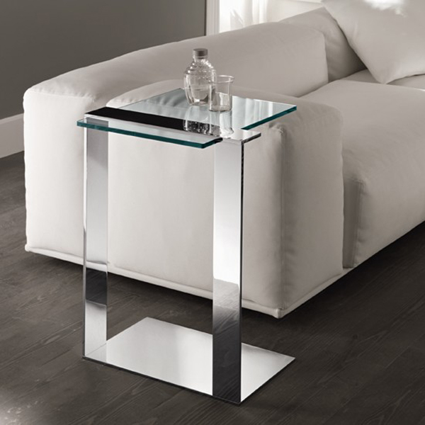 Joliet end table from Tonelli, designed by Giulio Mancini