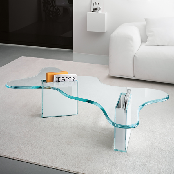 Splash coffee table from Tonelli, designed by Karim Rashid