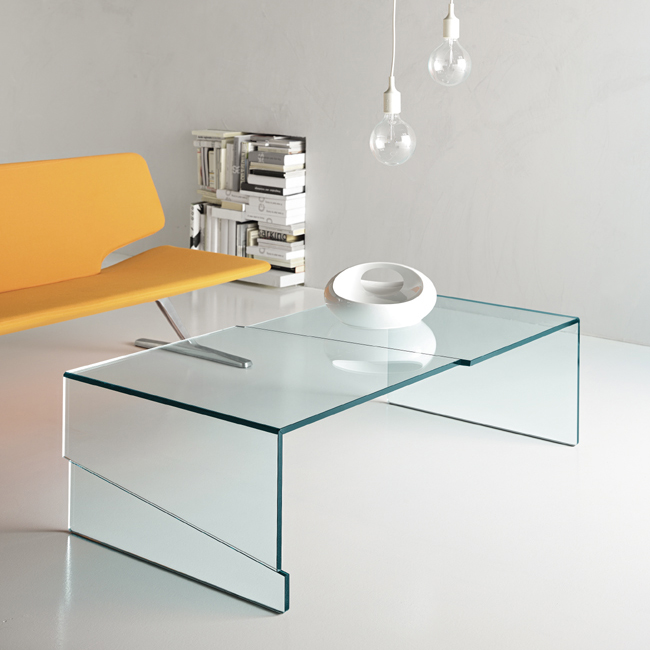 Strappo coffee table from Tonelli, designed by Luigi Serafini