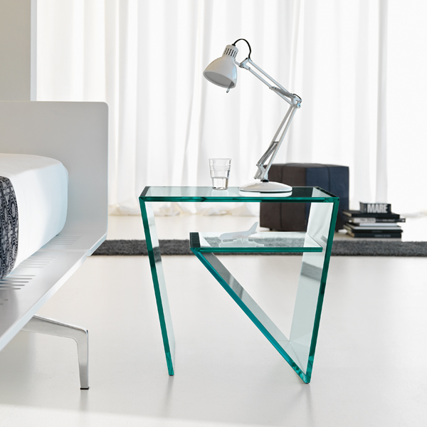 Zen coffee table from Tonelli, designed by Gonzo and Vicari
