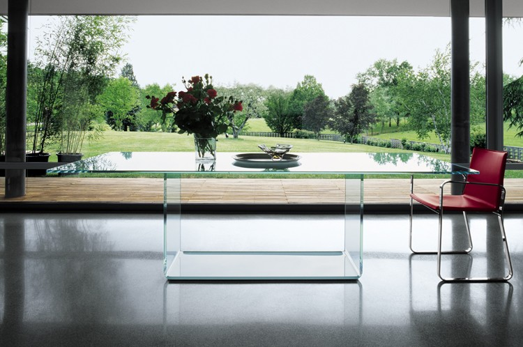 Valencia dining table from Sovet, designed by Lievore Altherr Molina