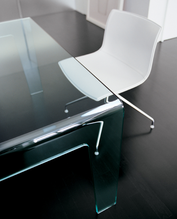 Frog Dining, table from Sovet, designed by Lievore Altherr Molina
