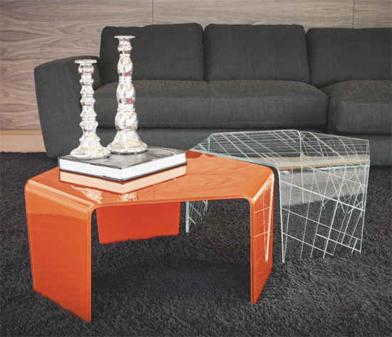 3Feet coffee table from Sovet, designed by Gianluigi Landoni