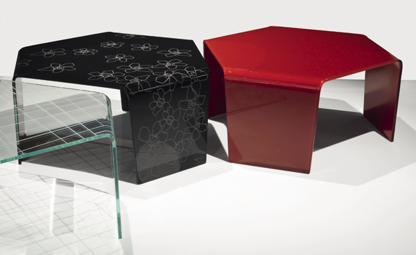 3Feet, coffee table from Sovet, designed by Gianluigi Landoni