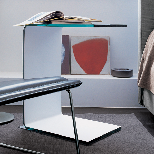 Swan end table from Sovet, designed by Lievore Altherr Molina