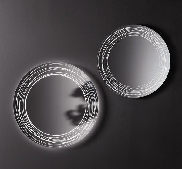 Vertigo mirror from Sovet, designed by Gianluigi Landoni