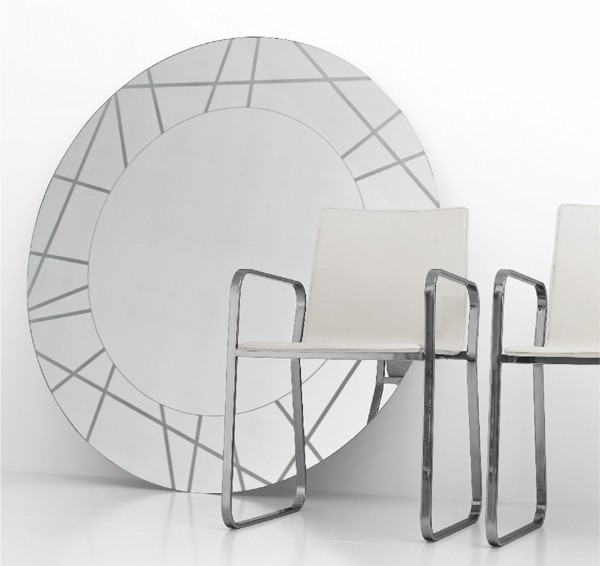 Segment mirror from Sovet, designed by Gianluigi Landoni