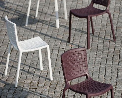 Tatami 305 chair from Pedrali, designed by Dondoli and Pocci