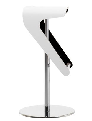 Woody stool from Pedrali, designed by Odoardo Fioravanti