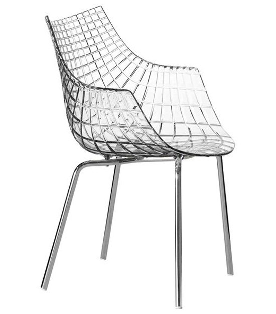 Meridiana 2011 chair from Driade, designed by Christophe Pillet